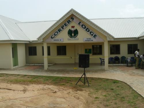 Jos Corpers Lodge Opening Ceremony