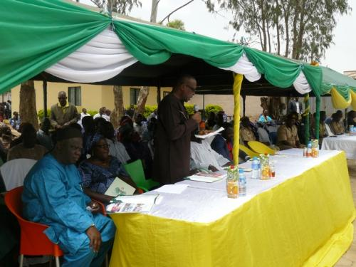 Cross section of guests at the ceremony